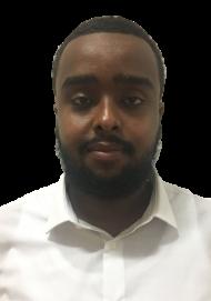 Abubakar Nur : Receptionist
