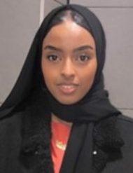 Amina Ali : Receptionist