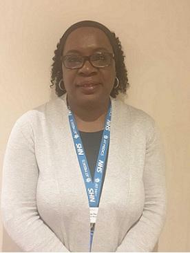 Valerie Ferguson :  Practice Receptionist