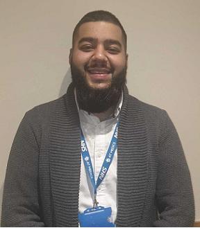 Iqbal Hussain : Receptionist
