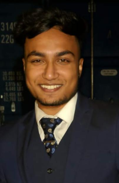 Syed Ali : Receptionist