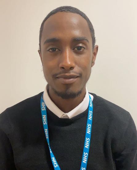 Warsame Mohammed : Receptionist
